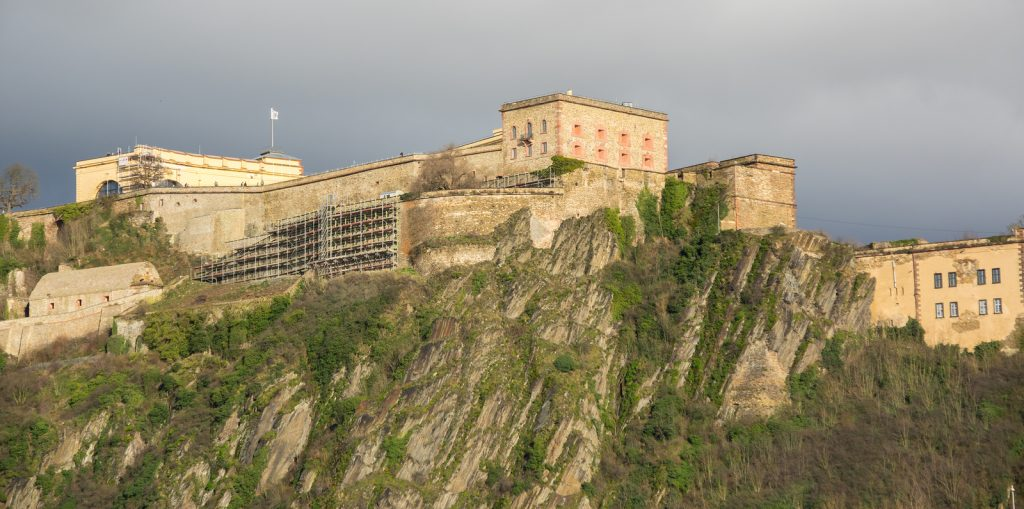 Zur Festung Ehrenbreitstein mit dem Taxi Koblenz