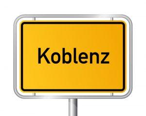 Als Tourist in Koblenz Sie benötigen ein Taxi. Rufen Sie uns an.